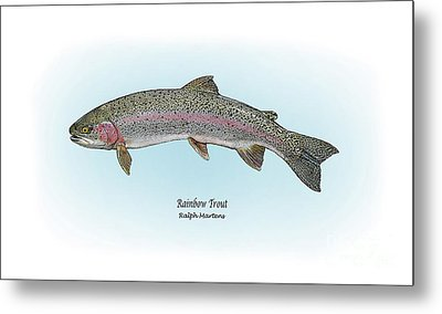 Rainbow Trout Metal Print by Ralph Martens
