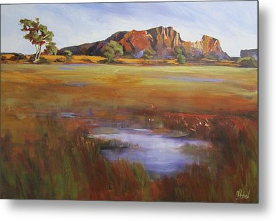 Rainbow Valley  Australia Metal Print by Chris Hobel