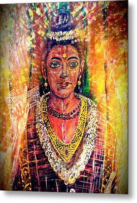 Supreme Majesty Metal Print by Michael African Visions