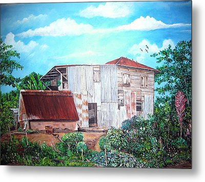 Rancho Viejo Metal Print by Jose Lugo
