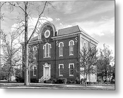 Randolph- Macon College Franklin Hall Metal Print by University Icons