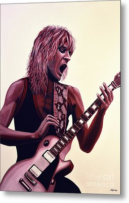 Randy Rhoads Metal Print by Paul Meijering