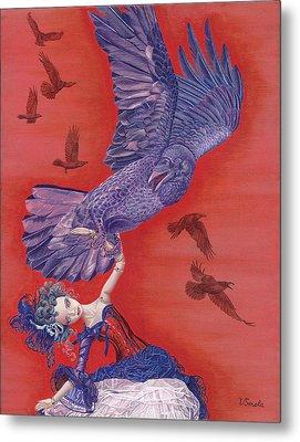 Ravenous Metal Print by Vlasta Smola