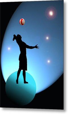 Reach For The Stars Metal Print by Barbara  White