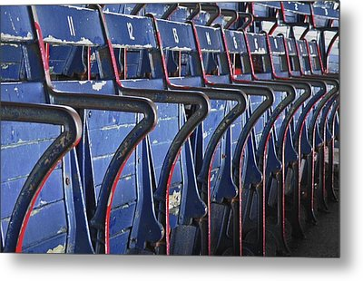 Ready For Red Sox Metal Print by Donna Shahan