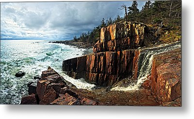 Receding Storm Metal Print by Bill Caldwell -        ABeautifulSky Photography