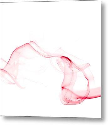 Red Smoke Metal Print by Scott Norris