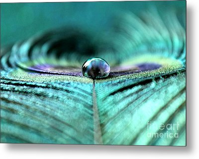 Reflections Of Clarity Metal Print by Krissy Katsimbras