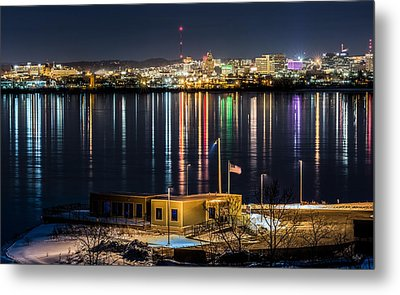 Reflections Of Syracuse Metal Print by Everet Regal