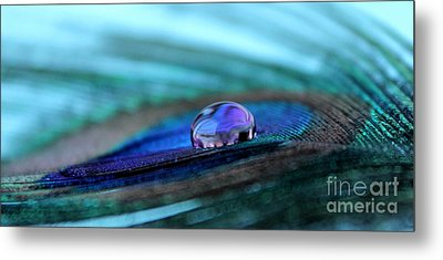 Reflections Of The Soul Metal Print by Krissy Katsimbras