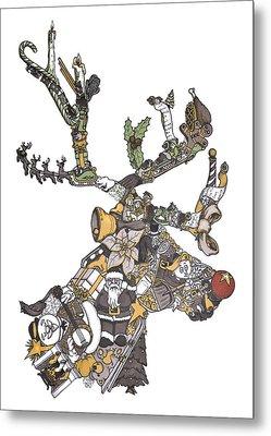 Reindeer Games Metal Print by Tyler Auman
