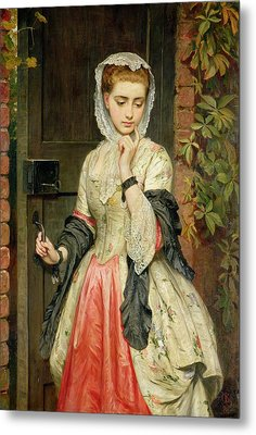 Rejected Addresses Metal Print by Charles Sillem Lidderdale