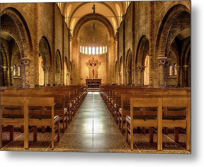 Religious Path Metal Print by Wim Lanclus