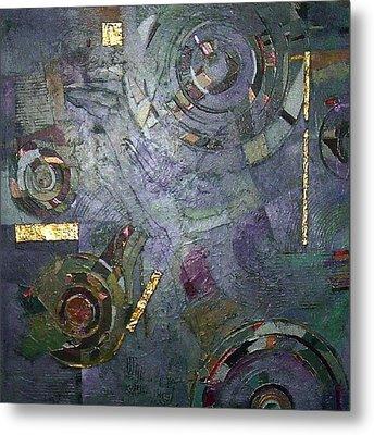 Remnants Of Time Metal Print by Bernard Goodman