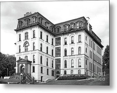 Rensselaer Polytechnic Institute West Hall Metal Print by University Icons
