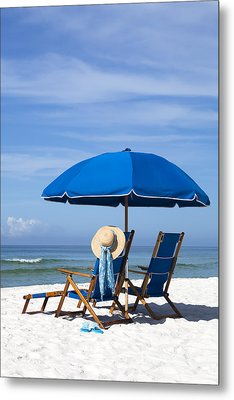Rest And Relaxation Metal Print by Janet Fikar