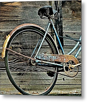 Retired Ride Metal Print by Marion McCristall