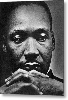Rev. Martin Luther King Jr. 1929-1968 Metal Print by Everett