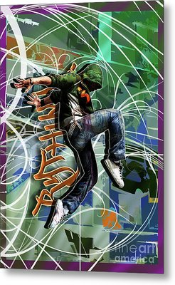 Rhythm Metal Print by Nicole Street