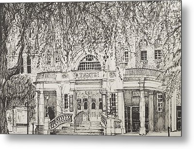Richmond Theatre London Metal Print by Vincent Alexander Booth