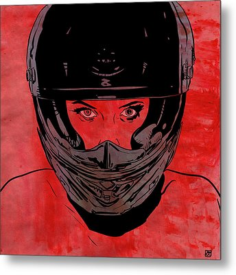 Ride Metal Print by Giuseppe Cristiano