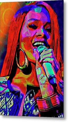 Rihanna  Metal Print by  Fli Art