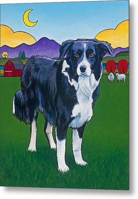 Riley Metal Print by Stacey Neumiller