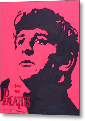Ringo Metal Print by Eric Dee