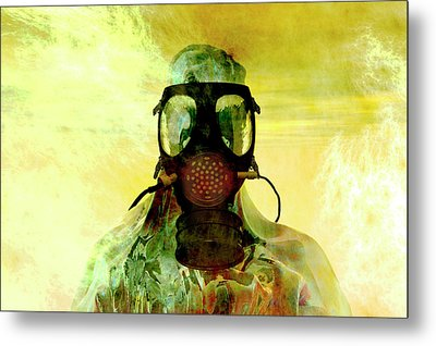 Risk Metal Print by Carol and Mike Werner