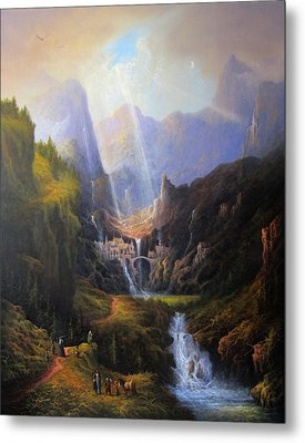 Rivendell. The Last Homely House.  Metal Print by Joe Gilronan