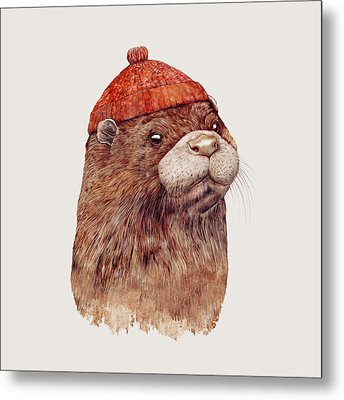 River Otter Metal Print by Animal Crew