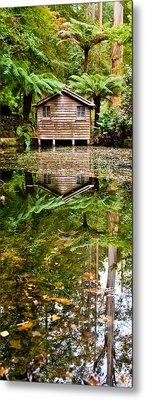 River Reflections Metal Print by Az Jackson
