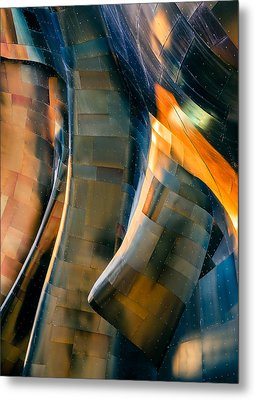 Riveting Metal Print by Jill Maguire