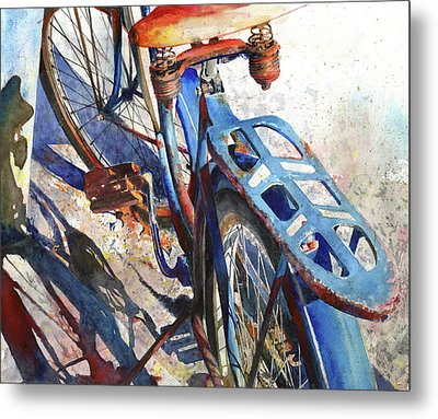 Roadmaster Metal Print by Andrew King