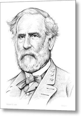 Robert E. Lee Metal Print by Greg Joens