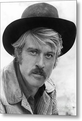 Robert Redford (1936-) Metal Print by Granger