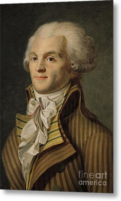 Robespierre Metal Print by French School