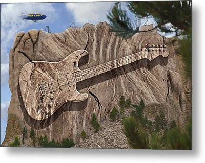 Rock And Roll Park 2 Metal Print by Mike McGlothlen