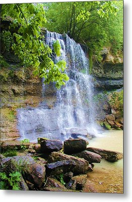 Metal Print featuring the photograph Rock Glen by Rodney Campbell