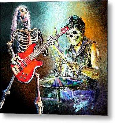 Rocking The Free Spirits Metal Print by Miki De Goodaboom