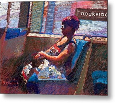 Rockridge Metal Print by Ellen Dreibelbis