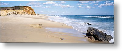 Rocks On The Beach, Lucy Vincent Beach Metal Print by Panoramic Images