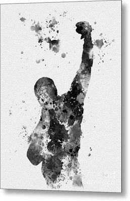 Rocky Balboa Metal Print by Rebecca Jenkins