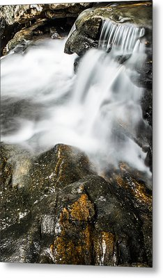 Rocky Collision Metal Print by Shelby  Young