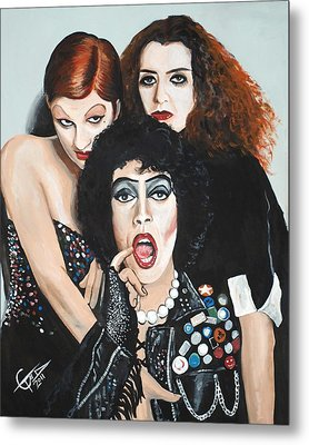 Rocky Horror Picture Show Metal Print by Tom Carlton