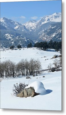 Rocky Mountain National Park Metal Print by Julie Rideout