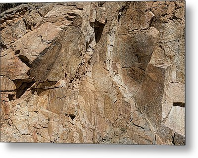 Rocky Mountain Texture Metal Print by James BO Insogna