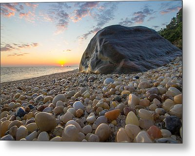 Rocky Shore  Metal Print by Roderick Breem