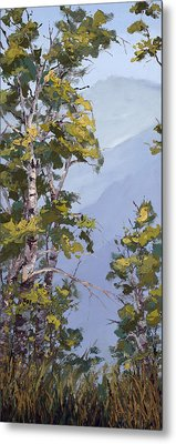 Rocky View Metal Print by Mary Giacomini