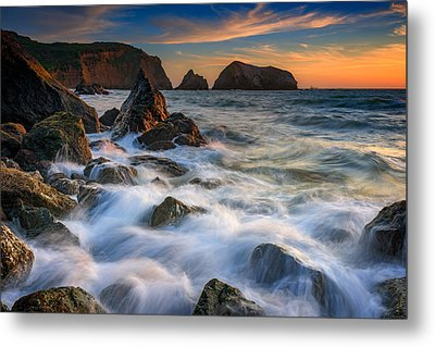 Rodeo Beach Metal Print by Rick Berk